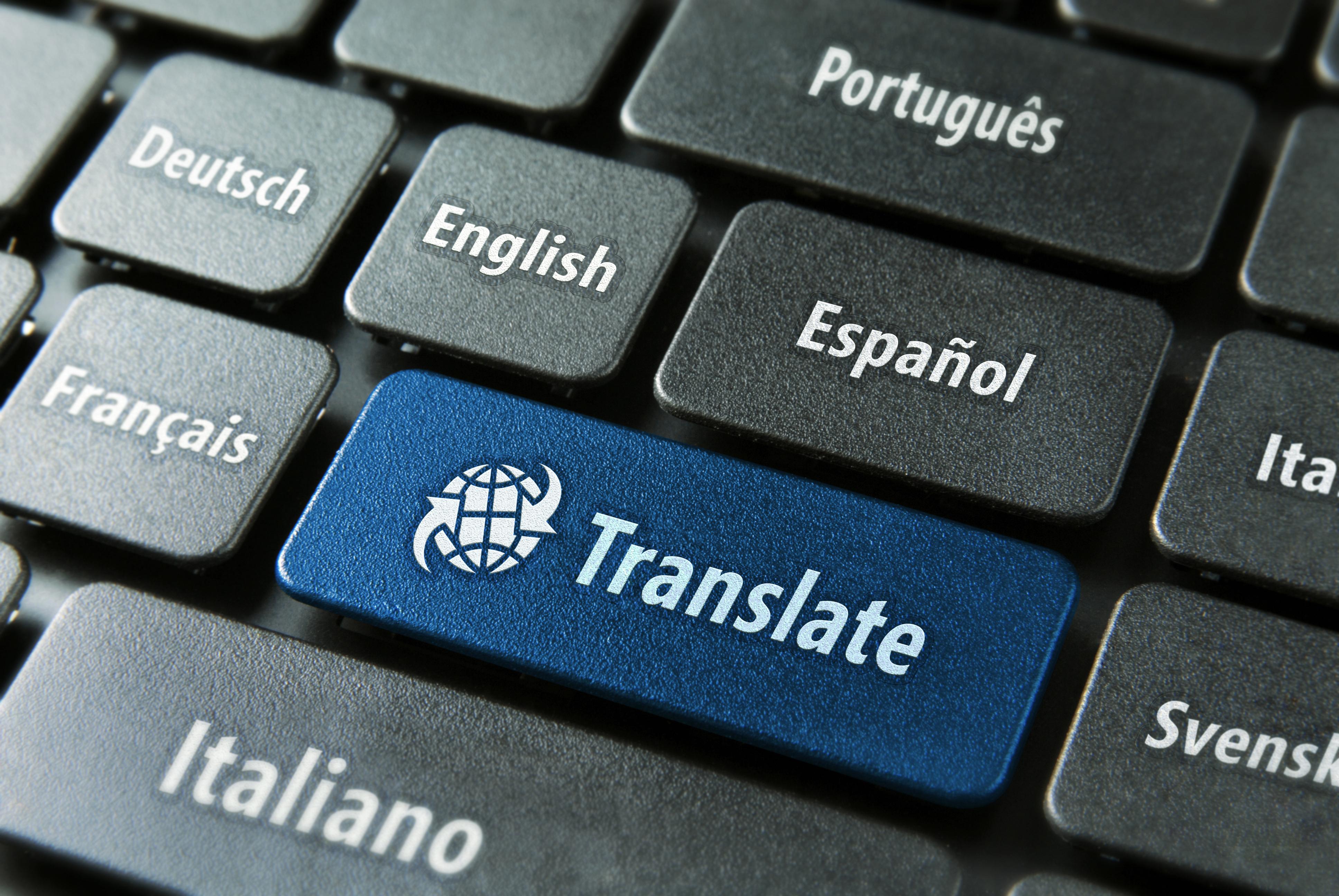 oversættelsesbureau