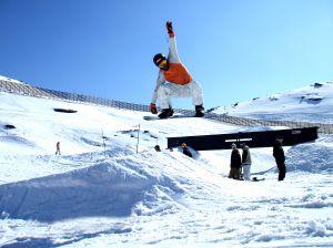 Snowboard funpark