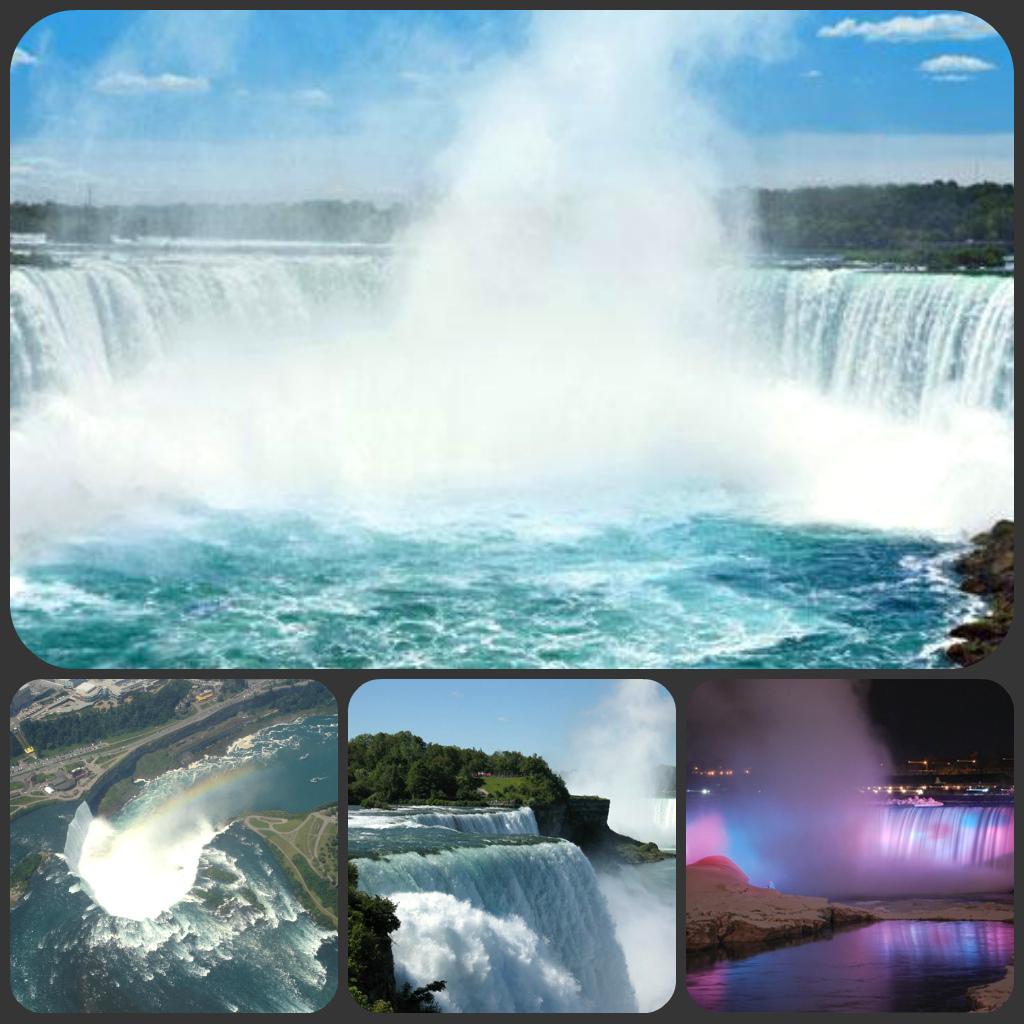 Niagara falls collage